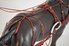 Zafirica Studios: Harness on a model horse