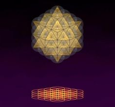 Sacred Geometry - patterns of sound and light creating...