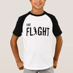 Take Flight Basketball Player Typography T Shirt