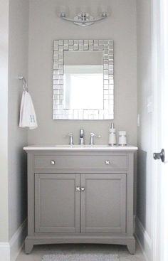 Come arredare il bagno con il grigio - Mobile bagno grigio chiaro