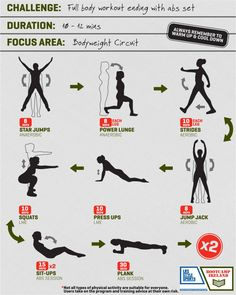 Full Body Workout Routine At Home