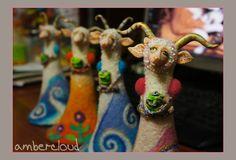Год Козы *** doll, dollart, hand made, ©ambercloud, авторская кукла