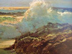 Robert Wood Artist | Framed Vintage Print Robert Wood Surfside Sea Side | eBay