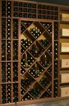 22 wine rack wall decor ideas