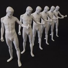 A naked statue for mom, dad, grandpa, grandma, and me ;D     #3dprint #3dprinting #future #technology #tech #innovate
