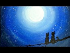 How to paint Night painting. (Moon painting) . It is easy speed quick and simple painting painted on cnvas board. It is painting for beginners which can make...
