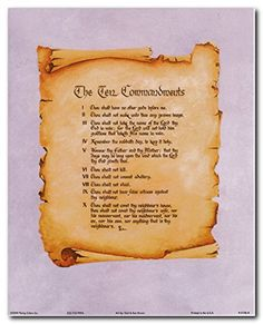 Turn your home into love and life of Christ with this Ten Commandments catholic inspirational quote art print poster. This poster captures the image of Ten Commandments catholic quote picture which surely make this wall art center of attraction. The Ten Commandments are a description of the basic freedom from sin that is necessary to live as a Christian. The Ten Commandments and Catholicism have been bound together since the time of Christ. Jesus Christ is the founder of Christianity.