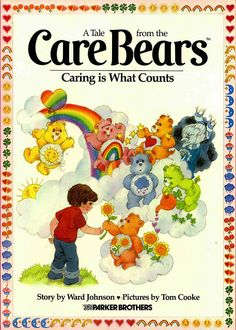 The big Care Bears books!  I would love to be able to share these with my nephews now, I loved these books