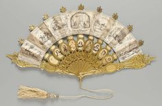 "madamecuratrix: ""omgthatdress: "" Fan Commemorating the Lincoln Assassination 1865 The Metropolitan Museum of Art "" Hey muirin007, it's a souvenir fan about your historical boyfriend. ;) """