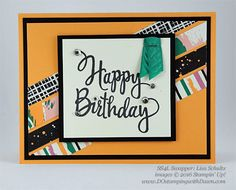 7 Stampin' Up! Playful Palette DSP Birthday Swap Samples (DOstamping with Dawn)