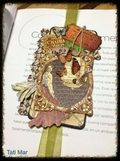 Love this Olde Curiosity Shoppe bookmark by Tati Mar shared on our Ning gallery! #graphic45