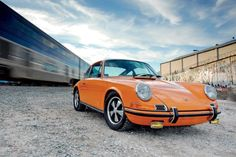 1971 911T Mild Mod. A home-built early 911 with balance. on Excellence, The Magazine About Porsche