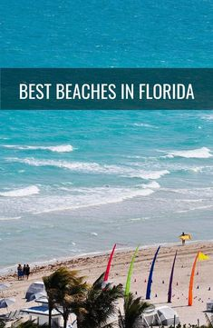 If you're anything like us -- that is to say, a beach fanatic -- you may find yourself fantasizing about a sunny, sandy holiday, no matter the season. Luckily, Florida is home to some of the best beaches in the country. With over 650 miles of shoreline, however, not all beaches are created equal -- some are peaceful, and others are party-heavy. We know you have limited vacation days, so we traveled around the Sunshine State to find the top spots. Here are the best #beaches in #Florida.