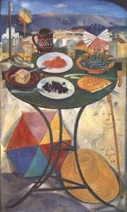 Clean Monday: an Unusual Greek Vegetarian Feast - Aglaia's Table οn Kea Cyclades Greece Painting, Carnival Crafts, Modern Art, Contemporary Art, Mediterranean Art, Street Art, Call Art, Color Of Life, Conceptual Art