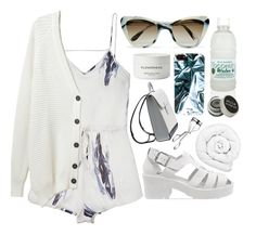"""""""L.A"""" by mode-222 ❤ liked on Polyvore featuring Lonely, Each X Other, Prism, Jeffrey Campbell, Marc by Marc Jacobs, Byredo, Brinkhaus, Lancôme and Stila"""