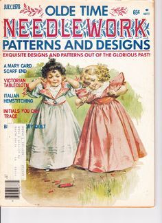 July, 1978 OLDE TIME NEEDLEWORK PATTERNS AND DESIGNS, 65¢