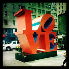 The Love Sculpture - NYC - we love it!