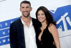 Michael Phelps et Nicole Johnson