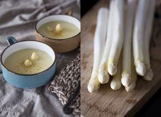 100 Decors: Simple creamy white asparagus soup