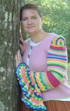 Ravelry: Molly's Amazing Technicolor Housecoat pattern by Megan Curtis