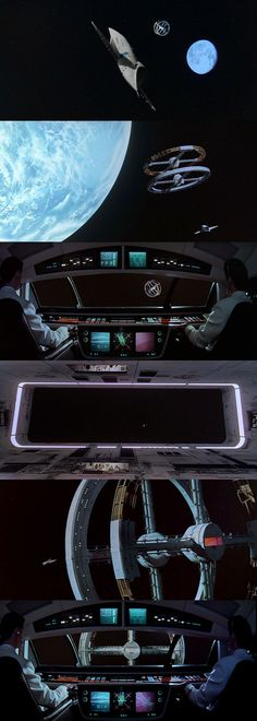 Musical and sci-fi blended perfectly well in 2001: A Space Odyssey for the docking of a spaceship on the space station. Dancing the Blue Danube Waltz serves as the musical context for these scenes.
