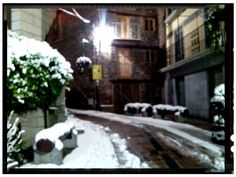 Nevada 1 de Mars 2014 Andorra la Vella centre historic by Seo Andorra T.00376631499