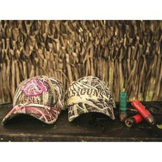 Girls With Guns Clothing Mossy Oak Blades hats are perfect for Upland Game and Waterfowl Hunting Seasons!  Wear them in and out of the field to show off your love for guns & duck hunting!