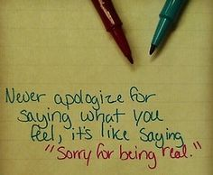 PicturesAndQuotes.net: Archive  I'm not sorry