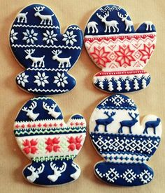 Image result for nordic themed christmas cookies