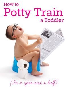 How to Potty Train a Toddler… in a Year and a Half Bwahahahaha - too funny!