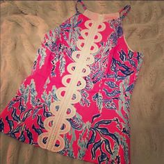 Lilly Pulitzer Annabelle  Adorable top perfect for spring and summer...will ONLY trade for other Lilly Lilly Pulitzer Tops