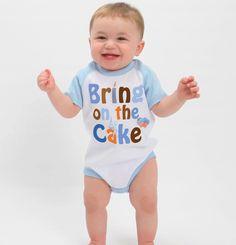 Birthday Bodysuit First Birthday Onsie Baby Boy Birthday Shirt up to Kids Tees. By Mumsy Goose choose size. $15.95, via Etsy.