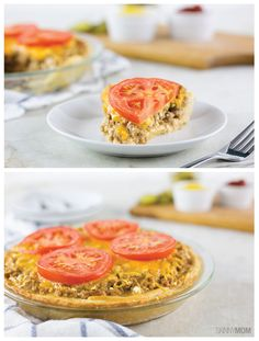 Cheeseburger. Pie. Click to get the recipe for this DELICIOUS (and skinny) dish.