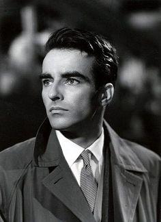 handsome, Montgomery Clift, 1950s