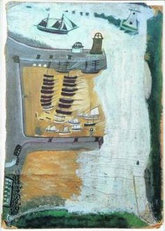Alfred Wallis - love his primitive paintings