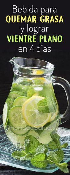 Esta bebida milagrosa te hará perder grasa abdominal en solo 4 días.