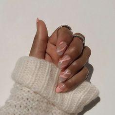 Valentine's Day Nail Designs, Simple Nail Art Designs, Easy Nail Art, Acrylic Nail Designs, Acrylic Nails, Nail Picking, Kawaii Nail Art, Nail Techniques, Art Of Beauty
