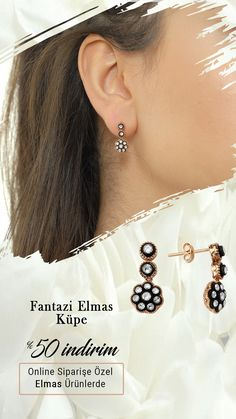 Trend altın küpe modelleri için online mağazamızı ziyaret edebilirsiniz. #altınküpe #zarafetinkaynağı Diamond Earrings, Jewelry, Fashion, Moda, Jewlery, Jewerly, Fashion Styles, Schmuck, Jewels