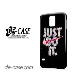 Nike Just Do It Art DEAL 7856 Samsung Phonecase Cover For Samsung Galaxy S5 / S5 Mini