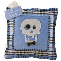 Groovy Holiday's Skull Toothfairy Pillow