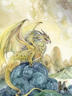 The dragon and the hero