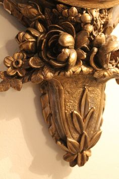 detail--Antique French Barometer