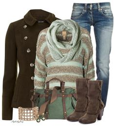 """""""Mint To Be"""" Winter Outfit"""