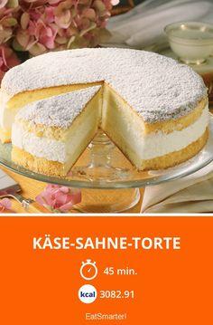 Käse-Sahne-Torte - smarter - Zeit: 45 Min. | eatsmarter.de