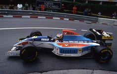 Michele Alboreto, Minardi Scuderia Italia-Ford M193B, 1994 Monaco Grand Prix