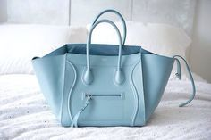 the perfect baby blue Celine
