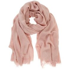 Mint Velvet Plain Textured Scarf, Pale Pink