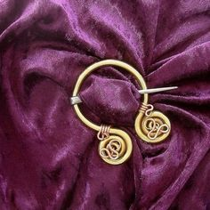 dragon penannular knotwork viking - Google Search