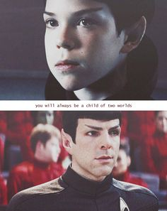 Spock; the Dichotomy of the Vulcan.