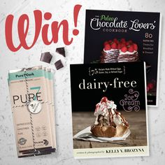 I am so excited to have found Pure7 Chocolate! Julie and Carrie make organic, fairly traded, high cacao, honey-sweetened, healthy chocolate. We're giving away a package containing 8 bars (1 of each flavor), plus a signed copy of my Paleo Chocolate Lovers' Cookbook and Dairy-Free Ice Cream book. For a chance to win complete the... Read More »